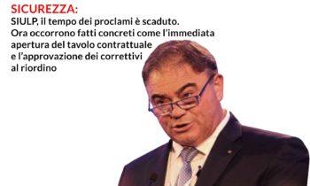 Dichiarazioni Felice ROMANO – Segr. Gen. SIULP