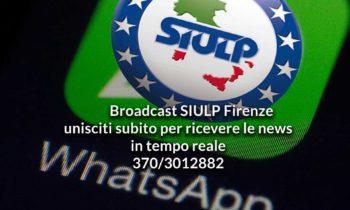Broadcast SIULP Firenze
