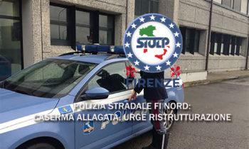 Sottosezione Autostradale Firenze Nord: allagata la caserma
