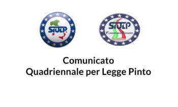 SIULP Funzionari e Dirigenti: Comunicato quadriennale per Legge Pinto