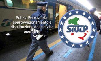 Polizia Ferroviaria – approvvigionamento e distribuzione della divisa operativa