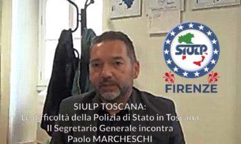 Il SIULP Toscana incontra il consigliere reg.le Paolo Marcheschi