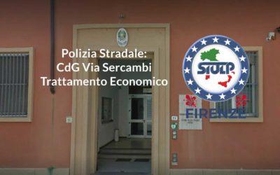 Polizia Stradale – CdG Via Sercambi: trattamento economico