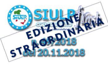Flash 49/2018 – 20.11.2018 Edizione Straordinaria