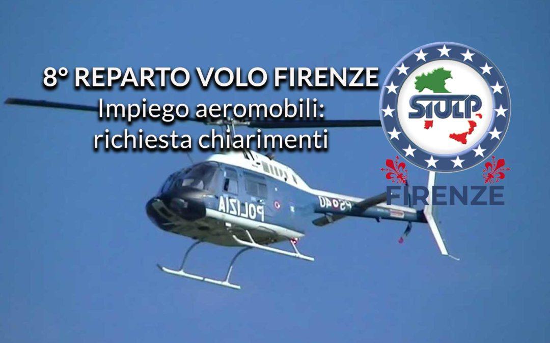 8° Reparto Volo: richiesta chiarimenti impiego aeromobili