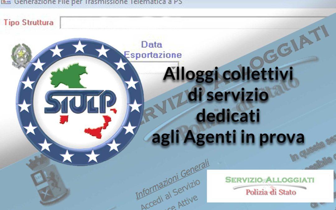 Alloggi collettivi di servizio dedicati agli Agenti in prova