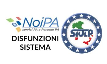 Disfunzioni sistema NoiPa