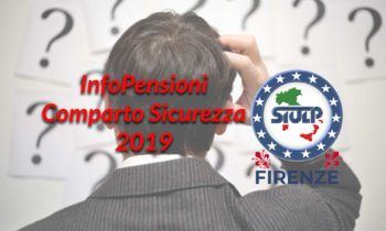 InfoPensioni 2019 – Comparto Sicurezza