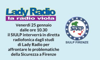 Il SIULP in diretta a LadyRadio