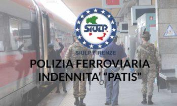 Polizia Ferroviaria: Indennità PATIS – Corresponsione arretrati.