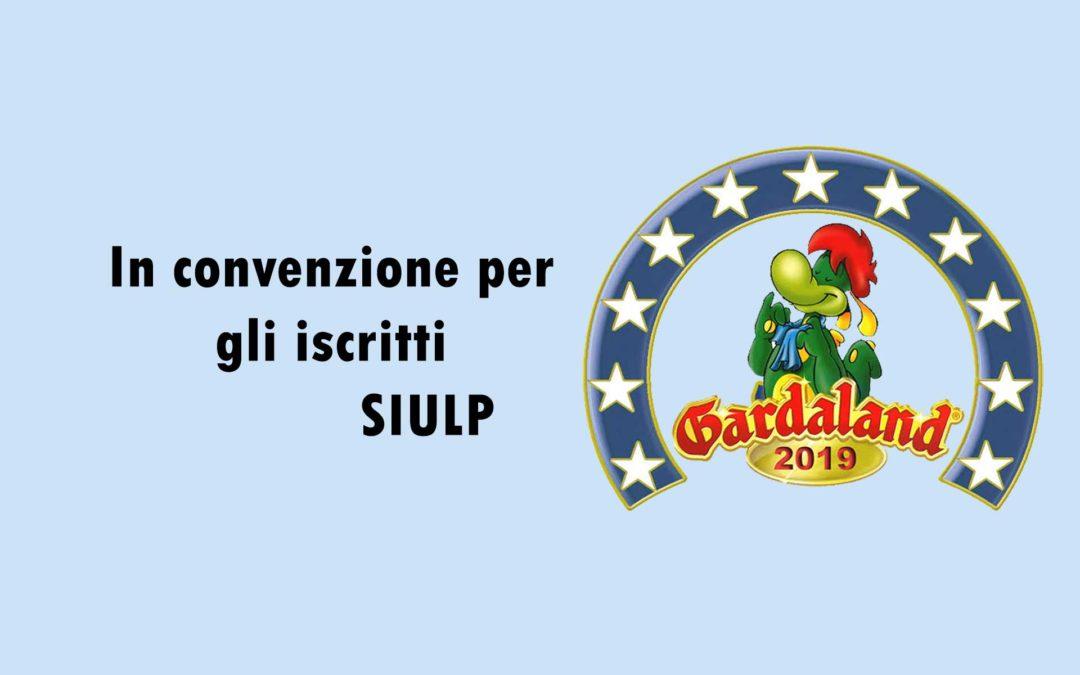 Convenzione Gardaland 2019 in favore iscritti SIULP