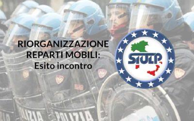 Riorganizzazione Reparti Mobili: Esito incontro
