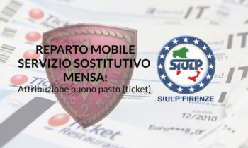 Servizio sostitutivo mensa – Attribuzione buono pasto (ticket)
