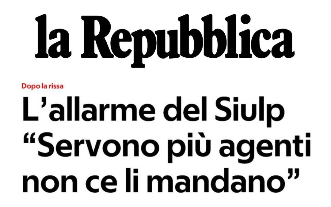 """Ciompi, scontro sui rinforzi """"ci sentiamo abbandonati"""" – L'allarme del SIULP """"servono più agenti non ce li mandano"""""""