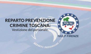 Reparto Prevenzione Crimine Toscana: vestizione del personale.