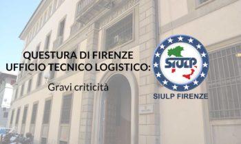 Ufficio Tecnico Logistico: problematiche urgenti.