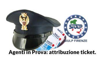 Polizia Stradale: attribuzione ticket Agenti in Prova.