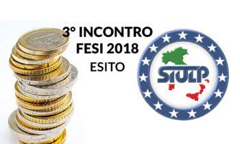 Fondo per l'efficienza dei servizi istituzionali anno 2018 – Esito 3° incontro