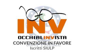 INV – OCCHIALIINVISTA: Convenzione in favore iscritti SIULP