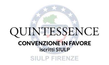 QUINTESSENCE Abbigliamento – Convenzione in favore iscritti SIULP