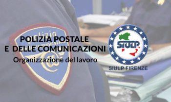 Compartimento Polizia Postale: organizzazione del lavoro.