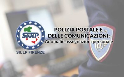 Compartimento Polizia Postale: anomalie assegnazioni personale.