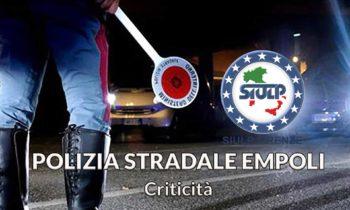 Distaccamento Polizia Stradale Empoli: grave e cronica carenza organico.
