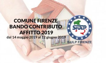 Comune di Firenze: Bando contributo affitto 2019