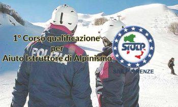 """1° Corso qualificazione per """"aiuto Istruttore di Alpinismo"""""""