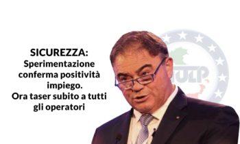 SICUREZZA: Romano (SIULP), sperimentazione conferma positività
