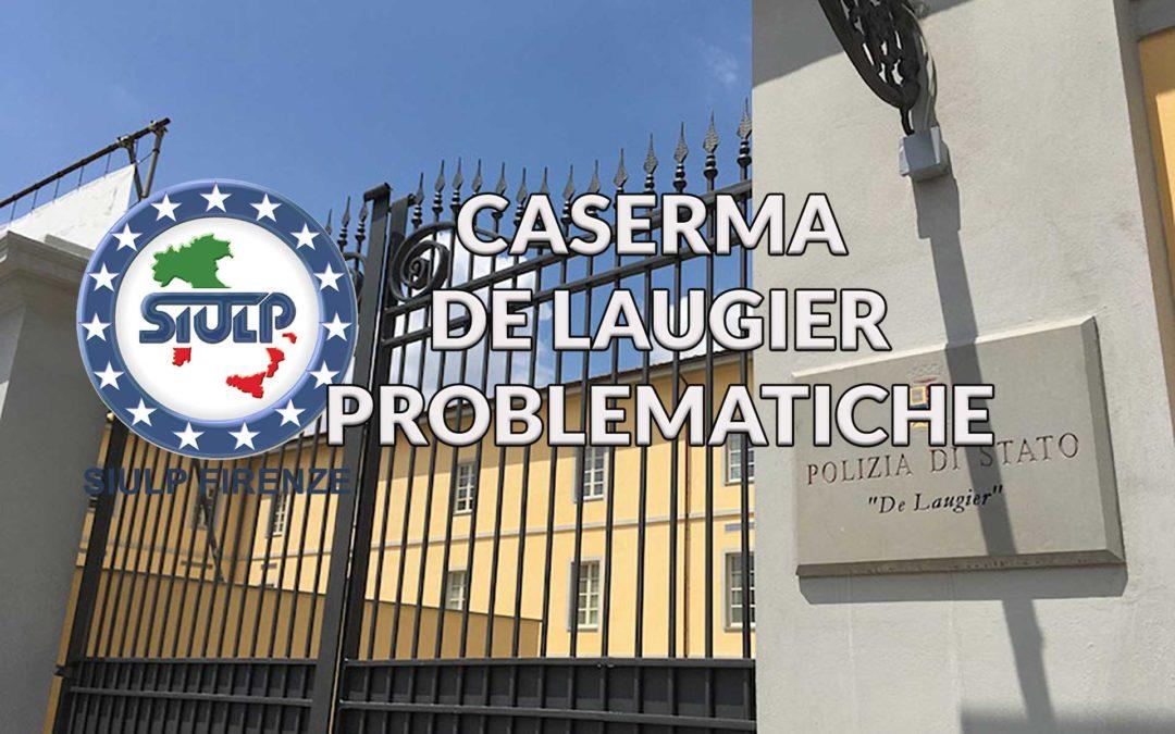 Caserma De Laugier: Problematiche.