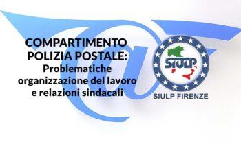 Compartimento Polizia Postale: Organizzazione del lavoro e relazioni sindacali.