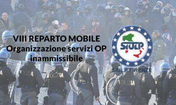 8° Reparto Mobile Firenze – Inammissibile organizzazione servizi OP Roma