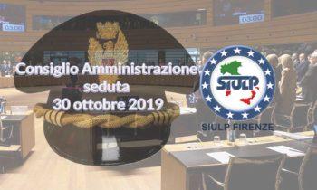 Consiglio di Amministrazione del 30 ottobre 2019: esito