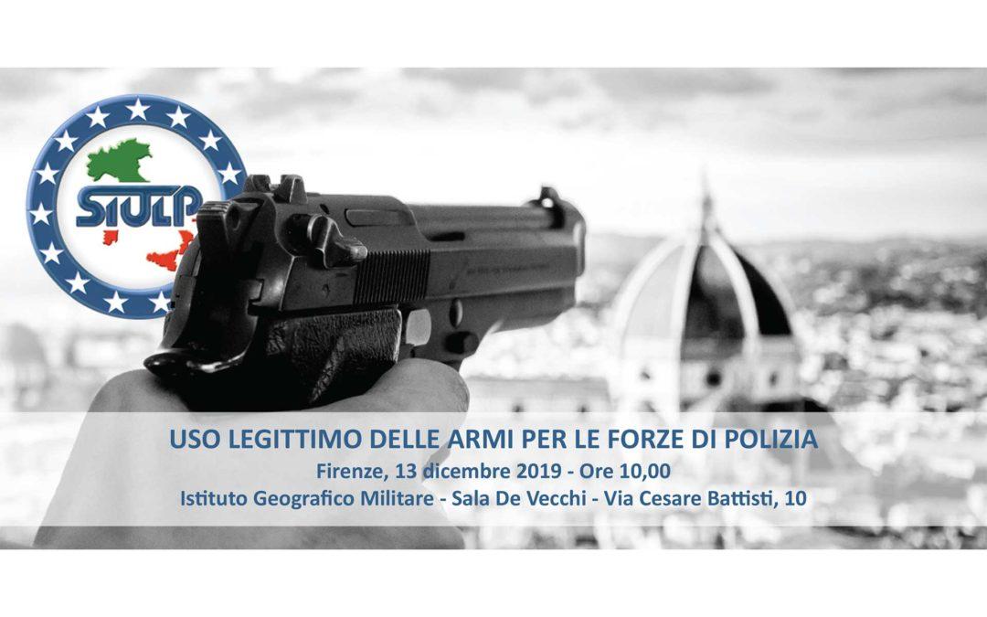 Uso legittimo delle armi per le forze di Polizia – seminario formativo