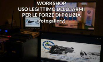 Uso legittimo delle armi per le forze di polizia: book fotografico