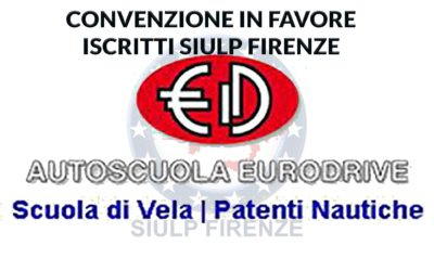 Autoscuola Eurodrive: Convenzione in favore iscritti SIULP patente nautica