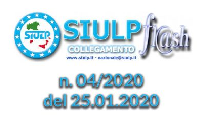 Flash 04/2020 – 25.01.2020