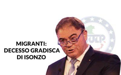 MIGRANTI: su decesso CPR Gradisca bene Capo polizia contro – dichiarazioni Felice Romano