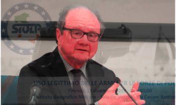 Uso legittimo delle armi – seminario formativo 13.12.2019 (intervento del dott. Alessandro Crini)