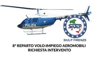 8° Reparto Volo: impiego aeromobili.