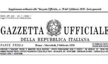 """Disposizioni in materia di revisione dei ruoli delle Forze di polizia, ai sensi dell'articolo 8, comma 1, lettera a), della legge n.124 del 2015, in materia di riorganizzazione delle amministrazioni pubbliche e Disposizioni in materia di riordino dei ruoli e delle carriere del personale delle forze armate ai sensi dell'articolo 1, commi 2, lettera a), 3, 4 e 5, della legge 1° dicembre 2018, n. 132 (Supplemento Ordinario alla Gazzetta Ufficiale della Repubblica Italiana – """"Serie Generale"""", del 5 febbraio 2020, n. 29)"""