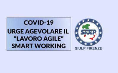 """Coronavirus (Covid-19): Urge agevolare il """"lavoro agile"""" (Smart Working)"""
