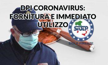 Polmonite da nuovo Coronavirus (Covid-19): Fornitura di Dispositivi di Protezione Individuale e contestuale utilizzo