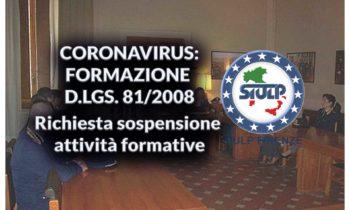 Nuovo Coronavirus: richiesta sospensione attività formative in aula ed adozione di sistemi F.A.D.