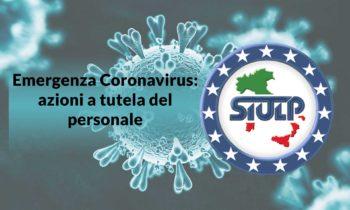 """Emergenza """"CoronaVirus"""" –  azioni a tutela del personale e della salubrità dei  luoghi di lavoro."""