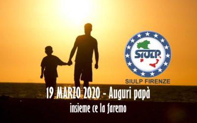 19 Marzo 2020 – Festa del papà