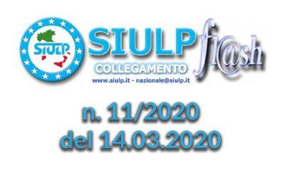 Flash 11/2020 – 14.03.2020
