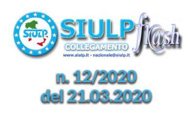 Flash 12/2020 – 21.03.2020