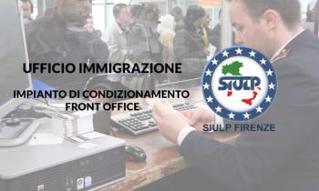 Ufficio Immigrazione – Impianto di condizionamento front office